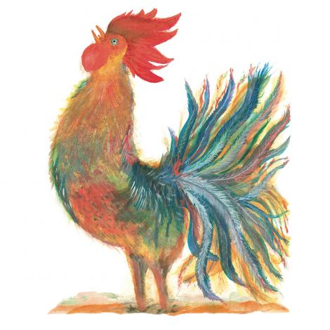 The Singing Rooster logo
